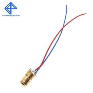 Image 5 - 10 pces 5 v 650nm 5 mw ajustável laser dot módulo de diodo visão vermelha cabeça cobre mini ponteiro laser