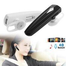 OOTDTY Wireless Bluetooth 4.0 Headset Stereo Earpiece Sport Earphone Handfree Un