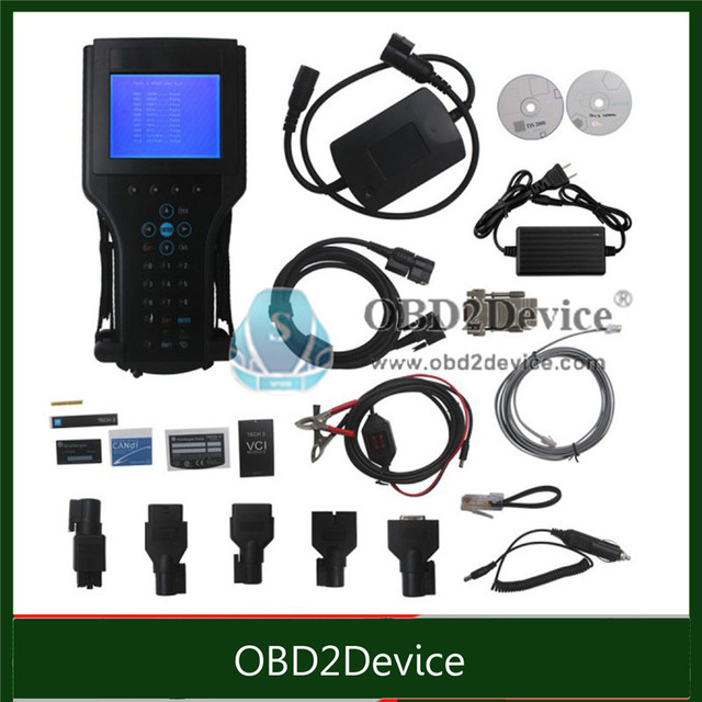 Fast delivery 2017 Strong GM TECH2 Full Set Support 6 Softwares(GM,OPEL,SAAB ISUZU,SUZUKI,HOLDEN) best GM Tech 2 Scanner