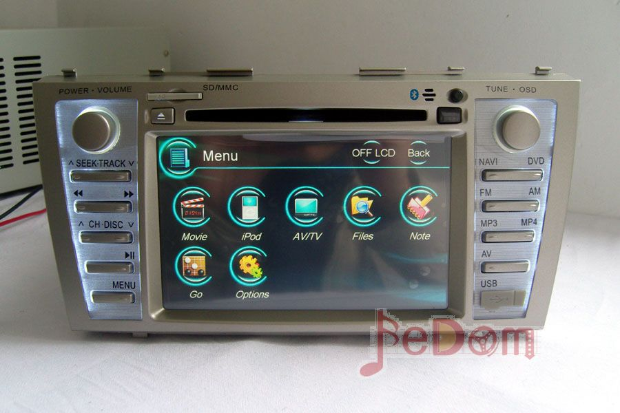Car Accessories Multimedia Audio Radio Dvd Player With Gps For Toyota Camry 2008 2017 In From Automobiles Motorcycles On