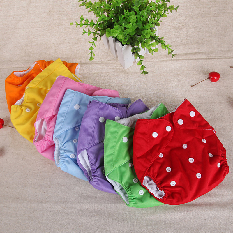 Soft Baby Nappies LABS Pants Reusable Adjustable Infant Diapers Unisex Baby Washable Nappy Cloth Summer Breathable Nappies P15