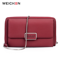 WEICHEN New Mini Women Chain Crossbody Bag Brand PU Leather Messenger Bags Handbag Shoulder Purses Clutch