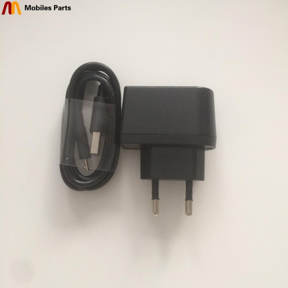Novo Carregador de Viagem + USB Linha de Cabo USB Para DOOGEE X6 PRO MTK6735 Quad Core 5.5 polegada HD 1280x720 Frete Grátis