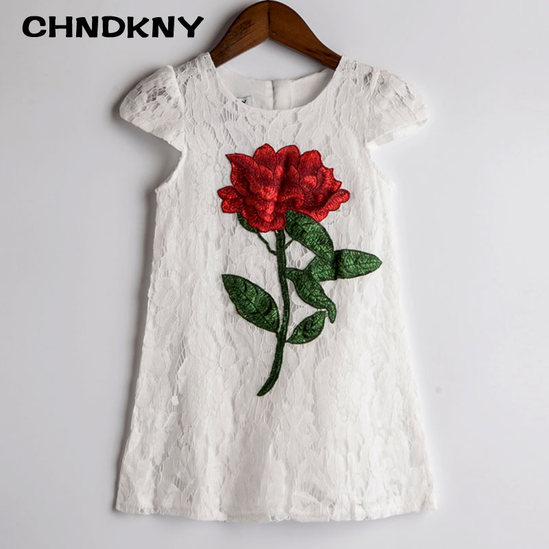 Toddler Summer Clothes Girl Floral Dress New Brand