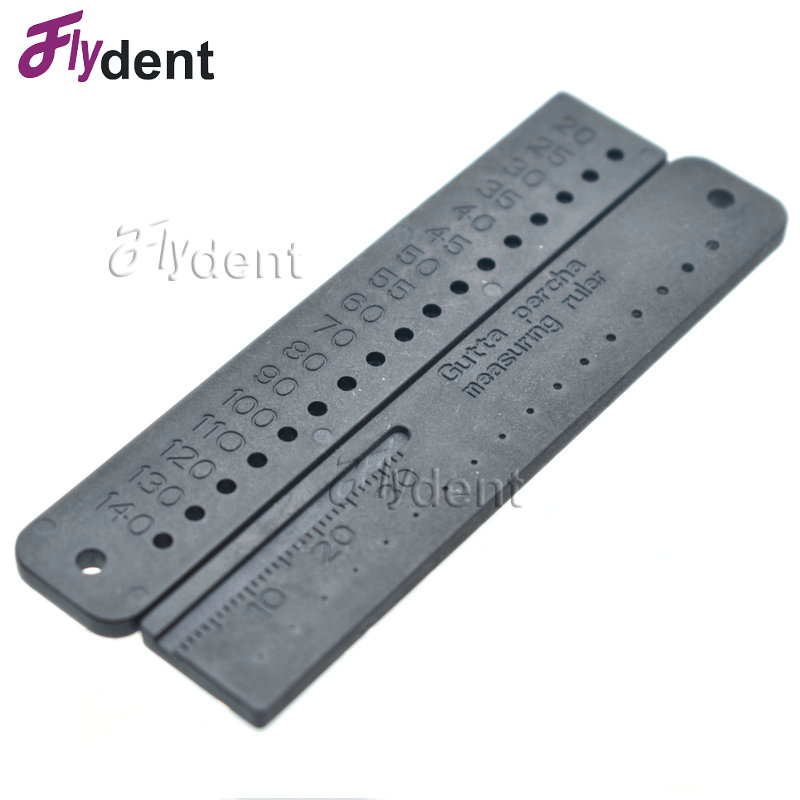 Dental Instruments Endo Rulers Gutta Percha Measering Ruler Span Measure Scale Endodontic Dental Materials Dental Tools