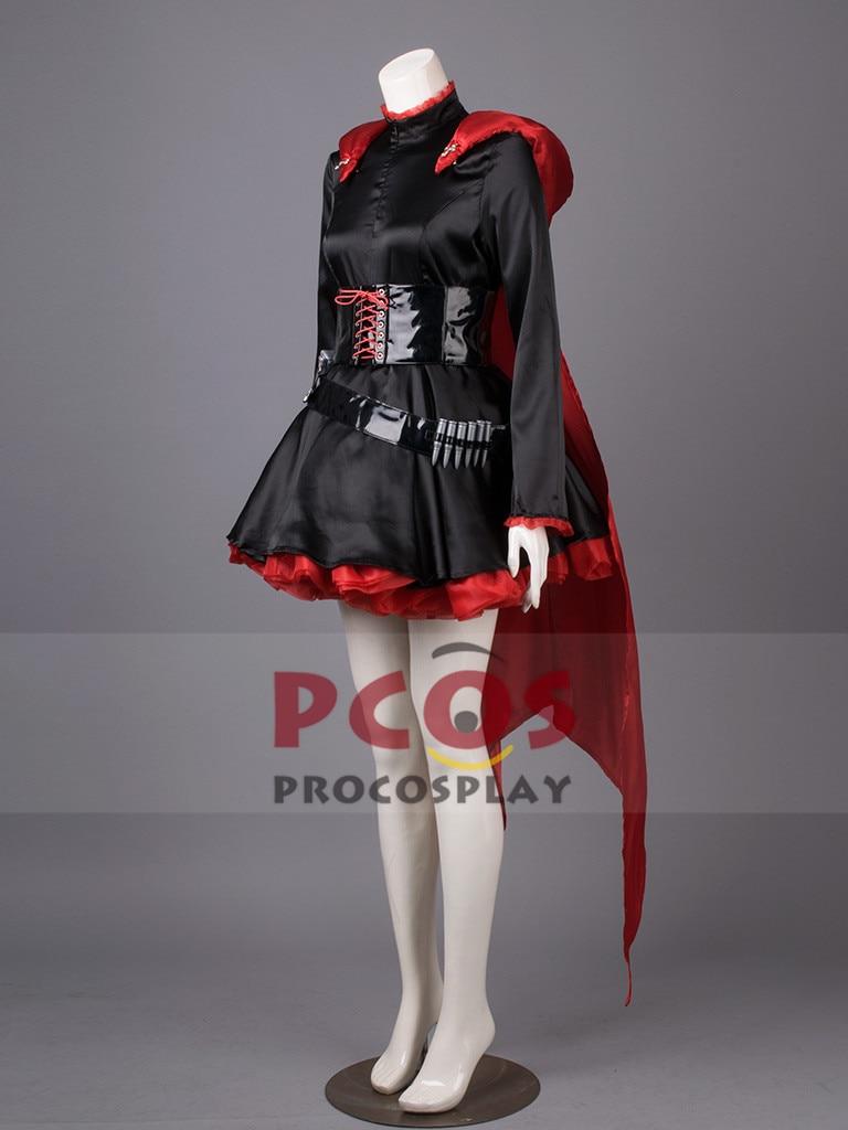 Լավագույն գինը ~ RWBY RWBY-Red Trailer Ruby Rose Cosplay - Կարնավալային հագուստները - Լուսանկար 2