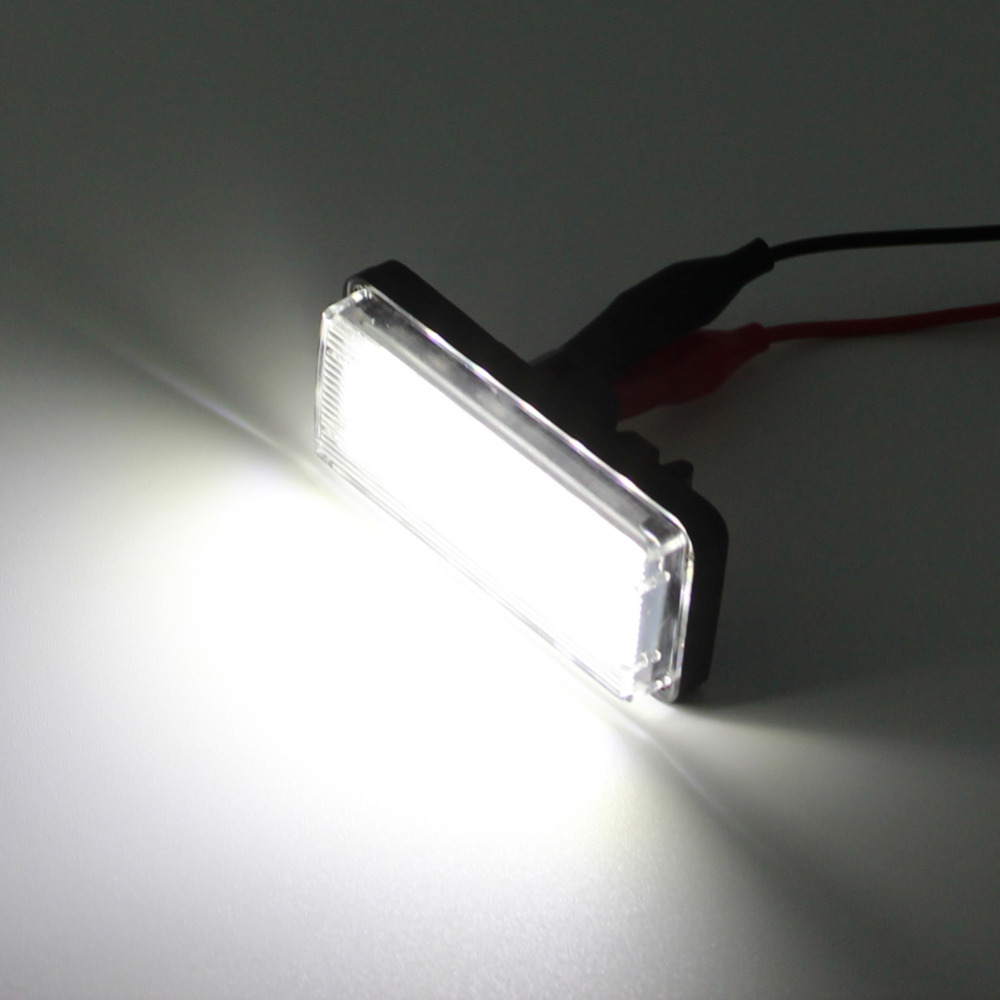 hight resolution of error free white car led number license plate light kit for lexus lx470 gx470 toyota land cruiser 120 prado land cruiser 200 in car light assembly from