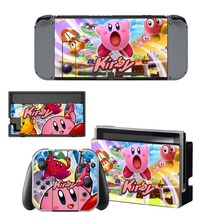 Nintend Switch Vinyl Skins Sticker For Nintendo Console and Controller Skin Set - Kirby