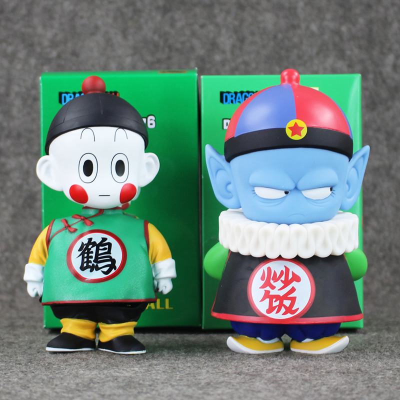 6 15.5cm Anime Dragon Ball Z Chiaotzu Pilaf Childhood PVC Action Figure Collection Model Toy Gift for Children arale figure anime cartoon dr slump pvc action figure collectible model toy children kids gift 6 types