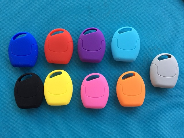 Pusakieyy 3 Buttons Remote Silicone Car Fob Key Case Cover For Ford Focus Mondeo Festiva Fusion Suit Fiesta KA Holder Protector