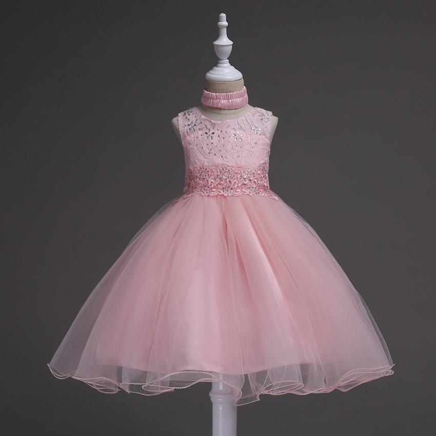 Princess Flower Girl Dress Summer 2017 Wedding Birthday Party ...