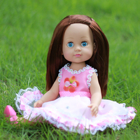 35cm Vinyl Handmade Silicone Reborn Dolls Real Girl Baby Reborn Dolls Children Gift Bonecas Brinquedos