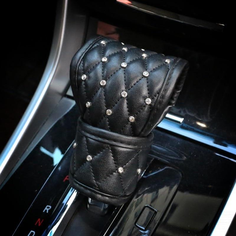Aliexpress Com Buy Car Shifter Covers Car Handbrake Grips Cover