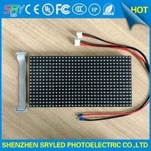 Outdoor High Brightness Waterproof SMD3535 Full Color 32x16matrix 256x128mm 1/4scan P8 LED Module