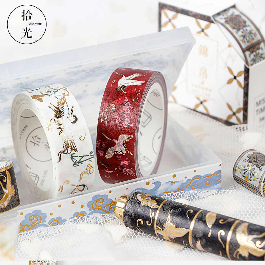 Totemy motyw taśmy washi tape diy wystrój naklejki scrapbooking maskująca dekoracja papierowa taśma klejąca szkolne