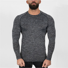 2017 new brand T-shirt fashion o – style collar men's T-shirt with t-shirts and long sleeves T-shirt men m – 2xl