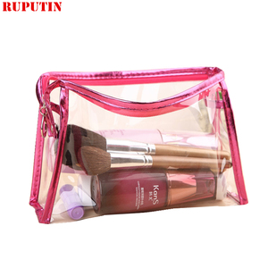 RUPUTIN PVC Waterproof Women Cosmetic Ba