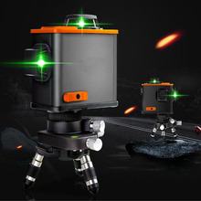 12-Line Laser Level 3D Self-Balancing 360 Horizontal And Vertical Cross Automatic Line Outdoor Detector