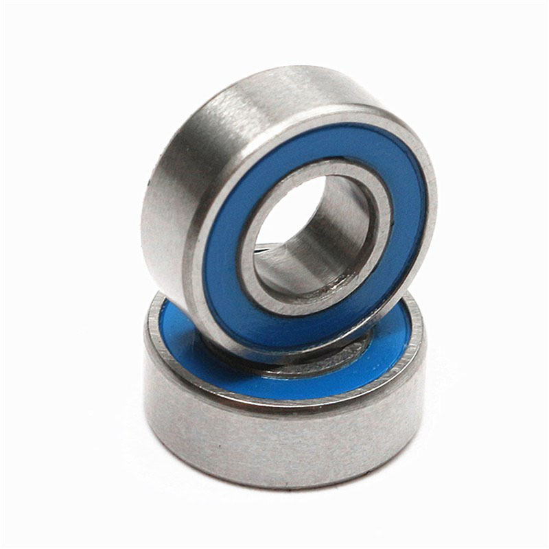High Quality 10PCS ABEC-5 MR126-2RS MR126 2RS MR126 RS MR126RS 6x12x4 Mm Blue Rubber Sealed Miniature Deep Groove Ball Bearing