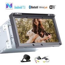 Android 7.1 Reproductor de DVD GPS para Hyundai Elantra 2016 Wifi de la ayuda SD USB en el tablero autoradio + Wireless Bluetooth Manos Libres cámara