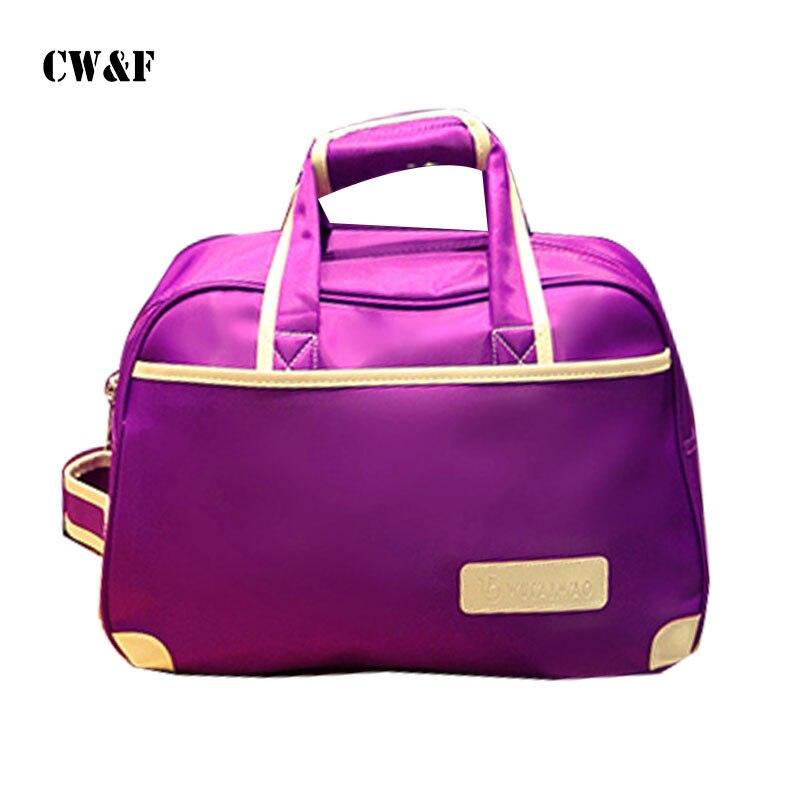 2018 new travel bag female hand luggage bag travel bag travel clothing bag travel bag trussardi jeans travel bag
