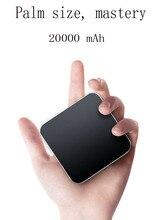 20000 mAh mini digital charging treasure universal portable large capacity wireless charger for mobile phone