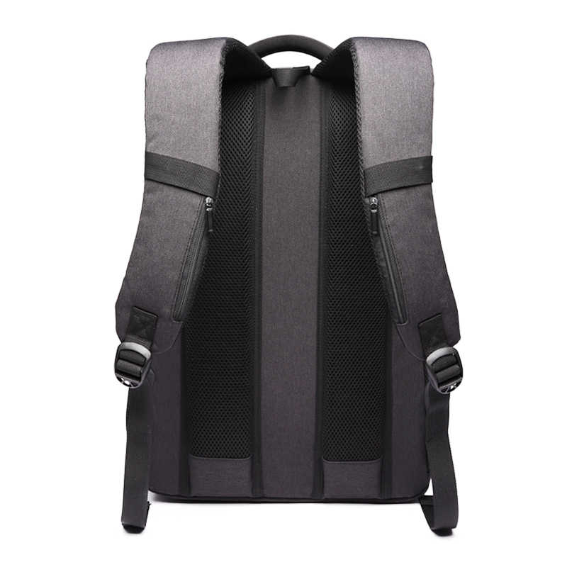 """جديد السويسري للماء أكسفورد حقيبة ظهر للعمل الرجال شحن خارجي USB وظيفة 15.6 """"محمول أكياس ظهر للسفر النساء Mochila"""