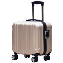 Universal 16 luggage wheels password box female mini commercial computer luggage trolley luggage male fresh small travel bag