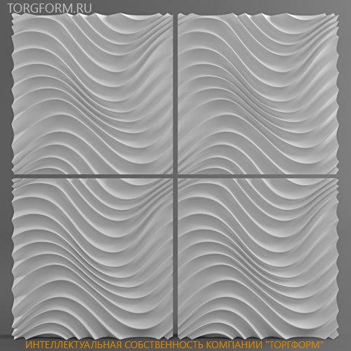 "Plastic molds forms 3D decorative wall panels ""Atria ..."