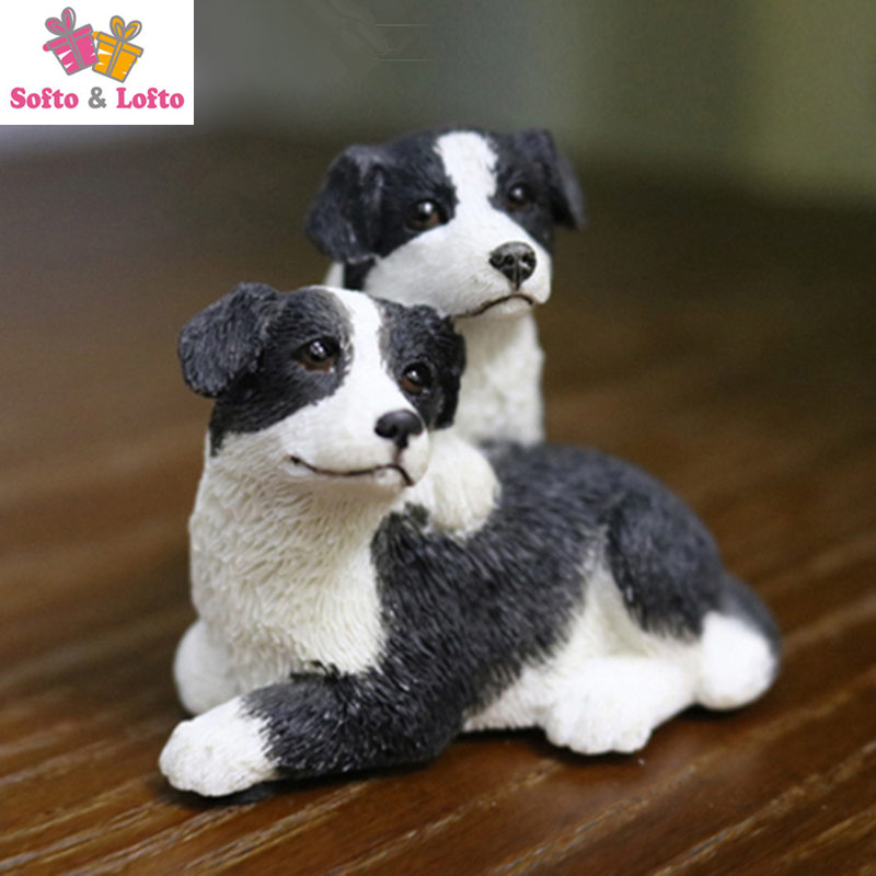 Quality resin The Scottish Border Collie dog figure,car styling home room decoration,baby doggy puppy article Christmas gift toy high quality resin bichon frise dog figure car styling home room decoration love poodle decorative article christmas gift toy