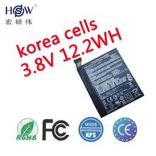 Original battery 3.8V 12.2WH  for asus MeMo pad 7 K01A ME170CX ME70CX B11P1405 battery