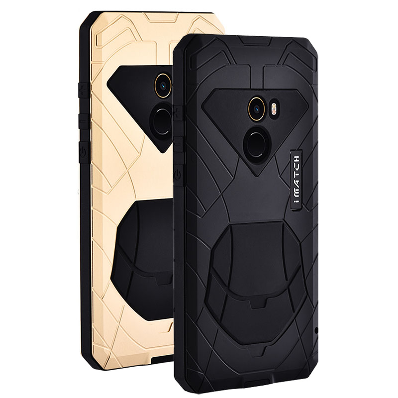 Case for Xiaomi Mi MIX 2 MIX2 Slim Energy Armor Shockproof Aluminum alloy metal Heavy Duty