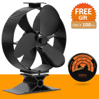 New Arrival 23 Fuel Cost Saving Heat Powered Stove Fan Ecofan Wood Stove Fan Circulate Heat