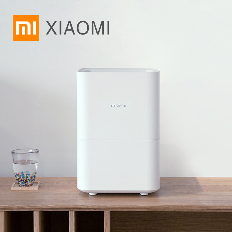 Smartmi Air Humidifier Smog-free Mist-free Pure Evaporate Type Natural Air Humidity Xiaomi Mute Humidifier App Control(China)