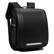 купить Kid Orthopedic School Bag Children Waterproof Primary Backpack For Girl And Boys Students Bookbags PU Japanese Large Backpack по цене 2831.89 рублей