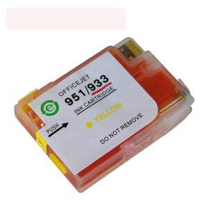 Image 4 - Dat cartouches dencre de recharge complète avec puce HP 932 XL et 933, pour Hp6100, 6600, 6700, 7110, 7612, 7610