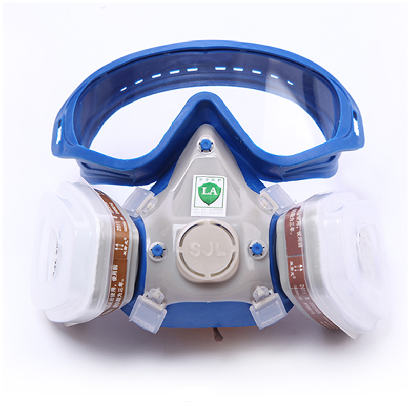 Respirator Glasses Chemical-Mask SELF-PRIMING-FILTER Paint Activated Anti-Dust Full-Face-Protective