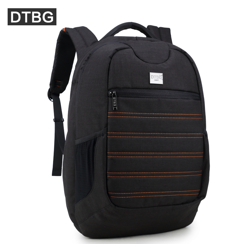 DTBG Backpack 15 Inch Anti-theft Laptop Backpack with USB Charging Port for Men Women bag Waterproof School Computer Travel Bag army green men women laptop backpack 15 15 6inch rucksack school bag travel waterproof backpack men notebook computer bag black