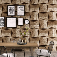 3d marble stone pattern pvc wallpaper vintage nostalgic antique personality bar recreational area background wall
