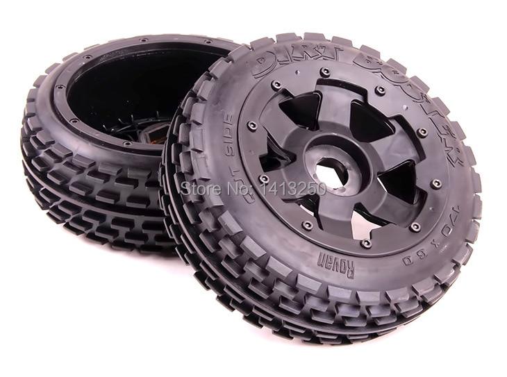 Baja 5B front off-road wheel set for baja parts+ free shipping baja 5b off road front wheels set only 2pc front