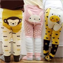 Baby Trousers Leggings Pp-Pants Anti-Slip Infant Cotton Children Print 0-To-24m Socks