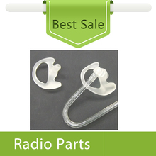 40X (20pairs) Small Size Left And Right Clear Earmold For Acoustic Tube Headset Two Way Radio Accessories