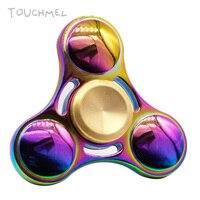 TOUCHMEL High Quality photo spinner Stress Wheel Toy Titanium Hand Spinner Metal Fidget Spinner EDC