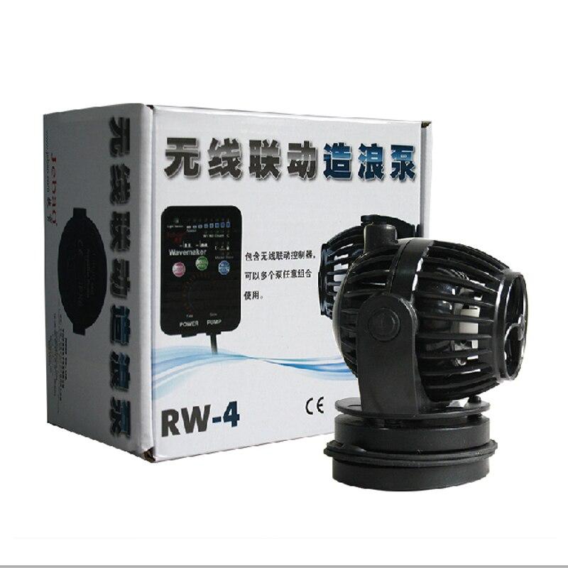 110-240v 무선 마스터 / 슬레이브 펌프 제어를위한 Jebao RW-4 해양 수족관 웨이브 메이커