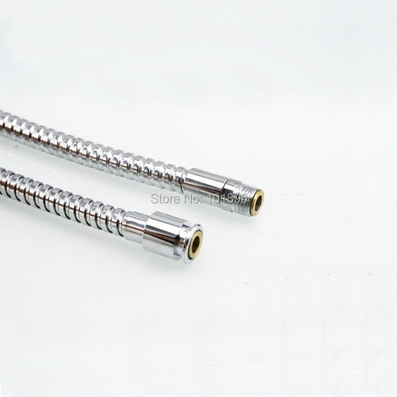 Роскошный высококачественный хромированный душевой шланг из нержавеющей стали, 6 моделей X18931A