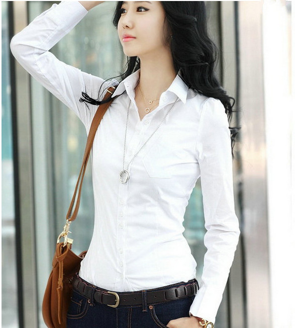 blouses for women 2015 the sale plus size sexy slim thick white ...