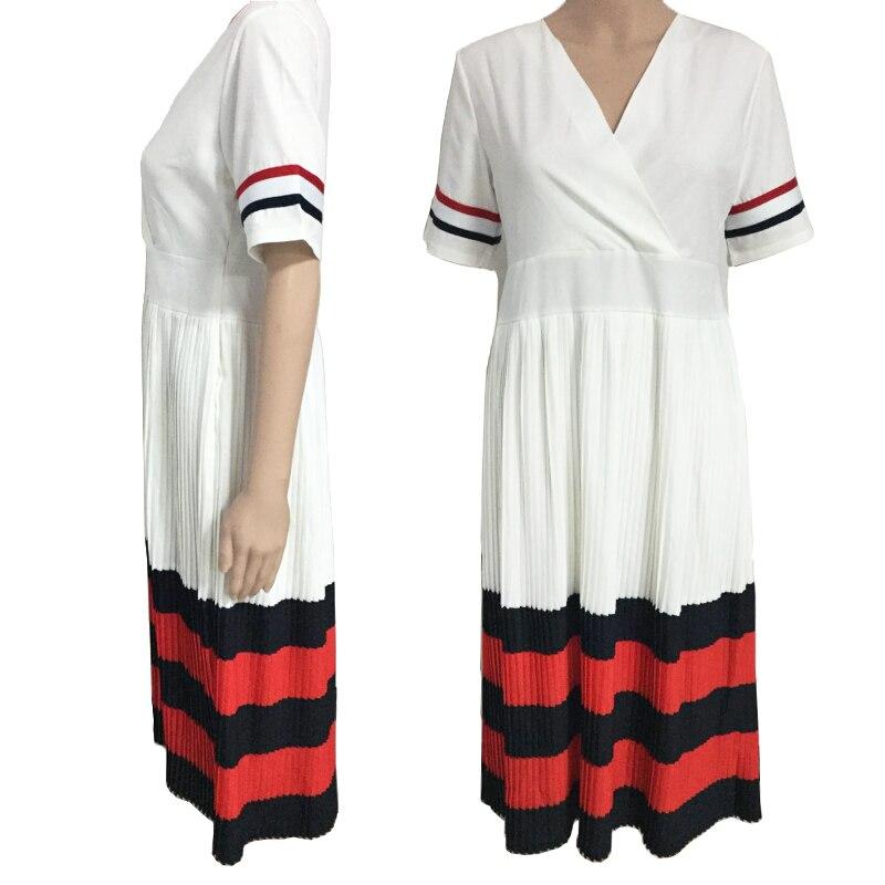summer african dresses for womens clothing vestidos de fiesta v neck red dress sale ankara dresses bazin riche africa clothing in Africa Clothing from Novelty Special Use