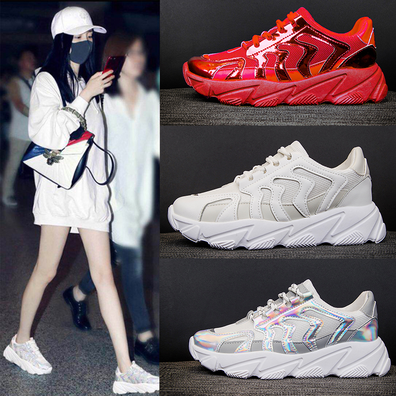 Original Women Basketball Shoes Triple S 3.0 Track Trainers Chunky Mesh Outdoors Sports 97 Boost Speed Sneakers Max Size 40