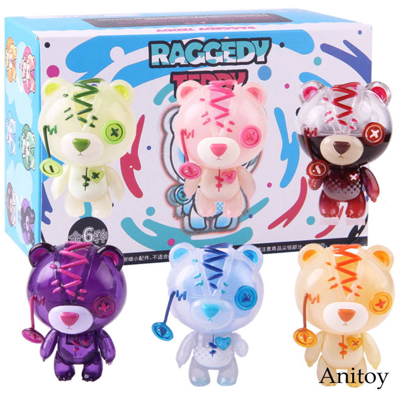 Your Toy Raggedy Teddy Bear Fruit Soft Drink Series Peach Orange Apple Cola Funny Figure PVC Collectible Model Toy Doll 6pcs/setYour Toy Raggedy Teddy Bear Fruit Soft Drink Series Peach Orange Apple Cola Funny Figure PVC Collectible Model Toy Doll 6pcs/set