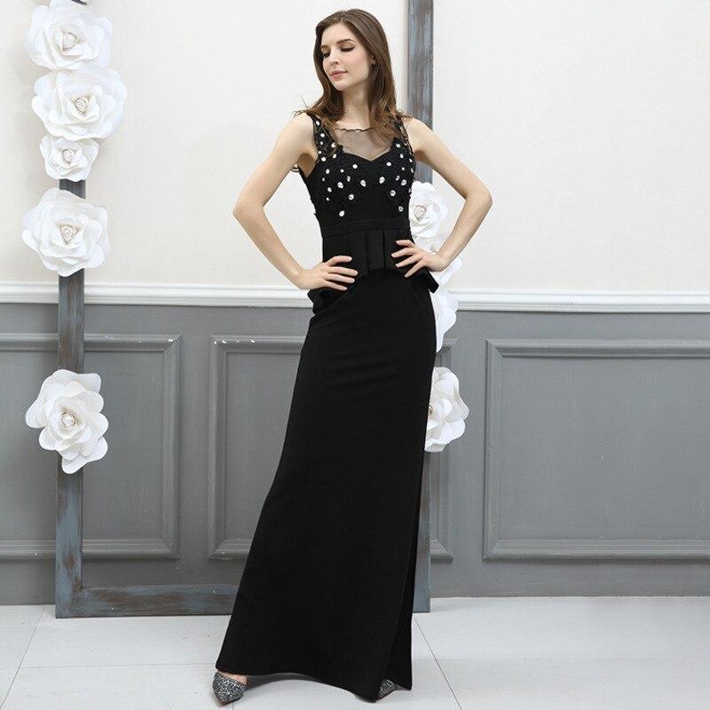 325523a7abc7 Vestiti Senza Sexy Paillettes Signore Backless Il Di Nuovo Maniche Abito  Vestito Ete Lace Muxu Black Delle Lungo ...